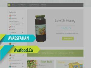 Online Store Design For Super Market, North York,ON