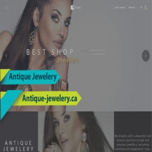 Website Design For Jewelry Store