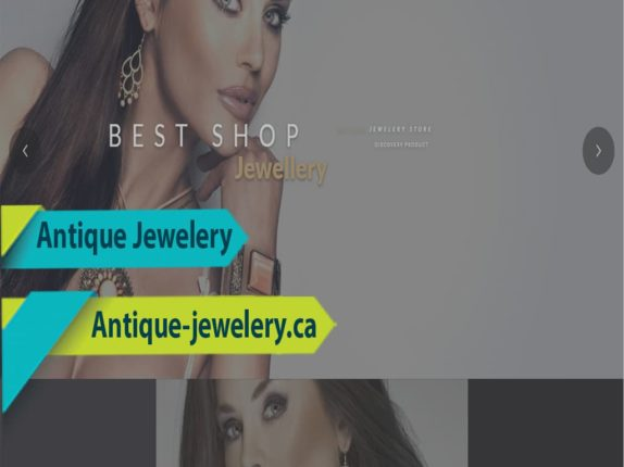 Website Design For Jewelry Store, North York, ON