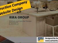 Construction Company WebDesign Toronto