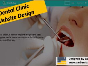 Dental Website Design Toronto