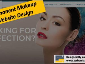 Permanent-MakeUp Website Design RichmondHill