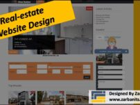 Realestate IDX Website Design