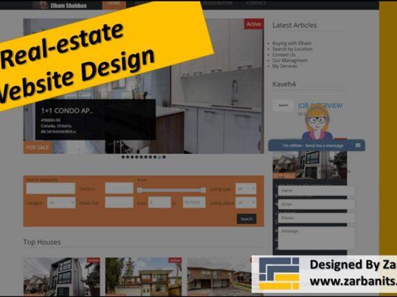 Realestate IDX Website Design
