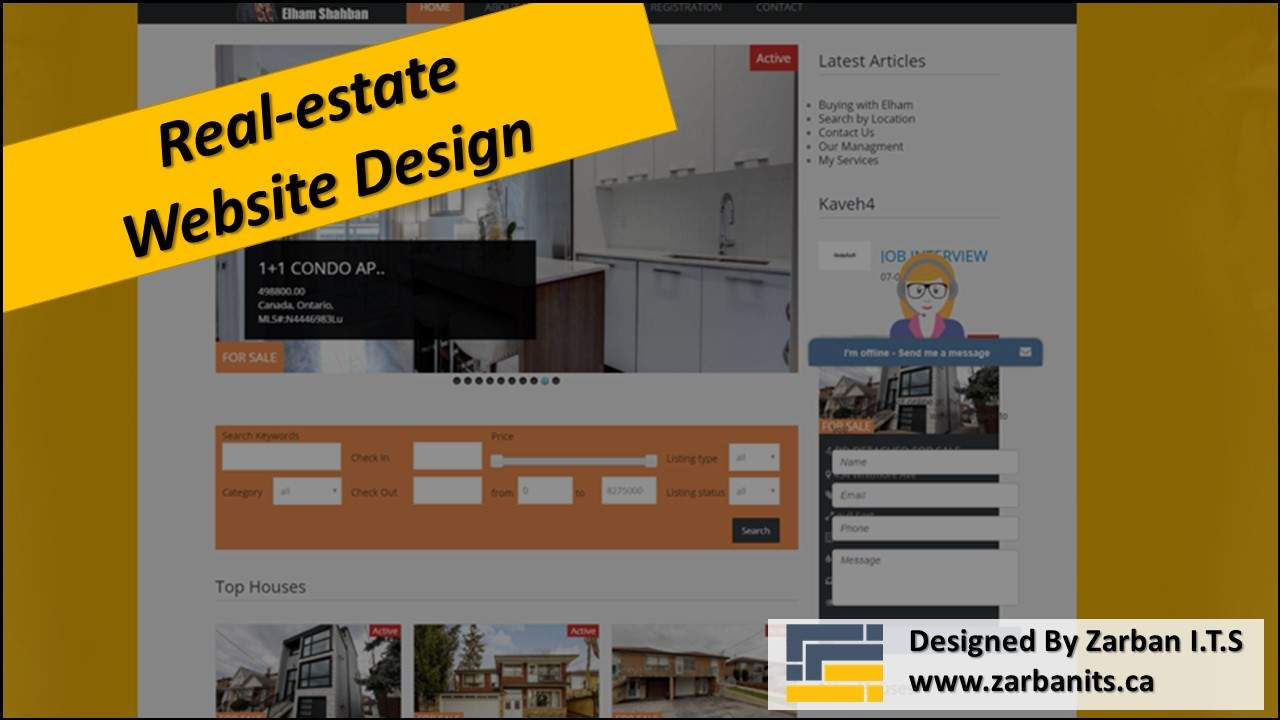 IDX Website Design in Toronto