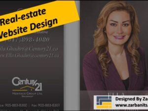 Realestate Website Design Toronto