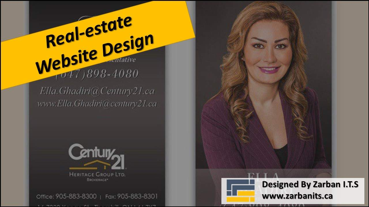 Real estate Landing Page design Vaughan