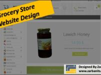 Grocery store webdesign Toronto