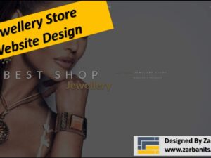 Website Design For Jewelry Store Toronto