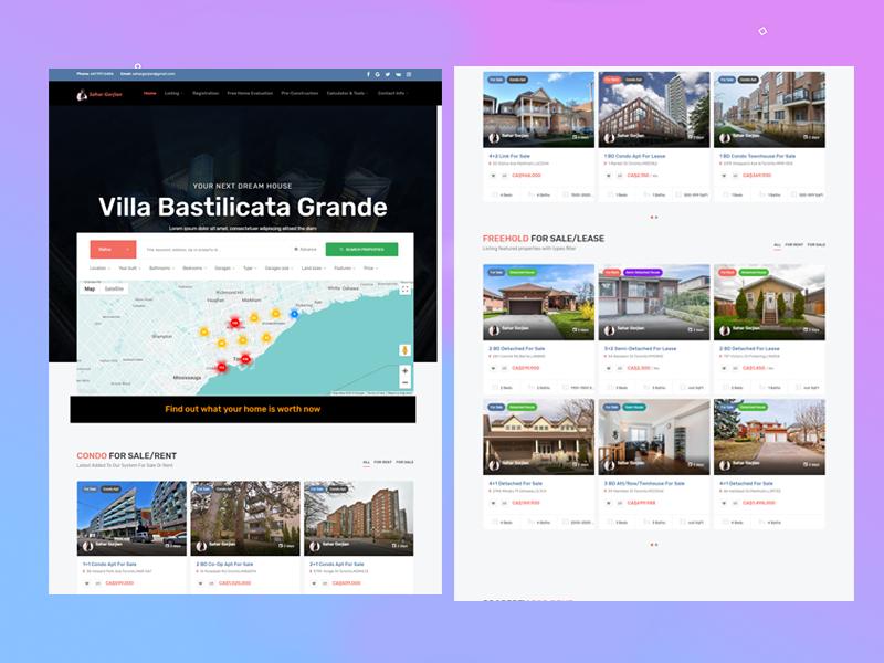 Real Estate IDX Website Toronto
