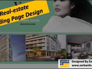Real estate Landing Page Design Markham