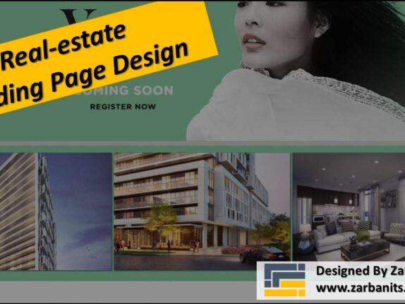 Real estate Landing Page Design Markham