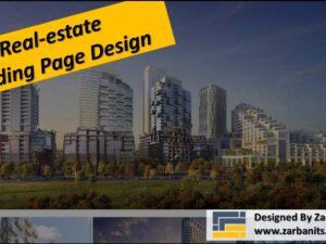 Real estate Landing Page Design NorthYork