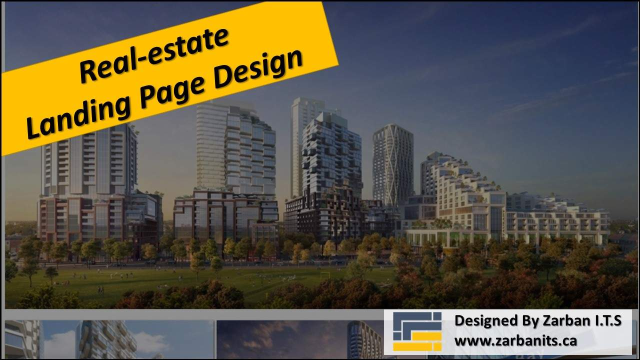 Real Estate Landing Page Design North York – Galleria On The Park Condos