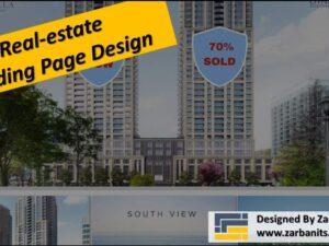 Real estate Landing Page Design Richmond Hill