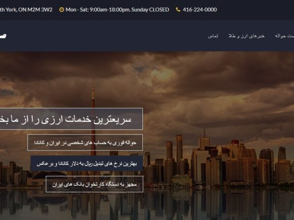 Website_Design_Currency_Exchange_Office_Toronto