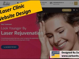 Laser Clinic Website Design Richmond Hill