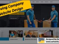 Moving Company Website Design in Toronto