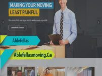 Website Design For Residential & Commercial Moving Company