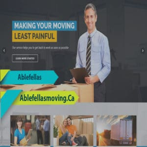 Website Design For Moving Company