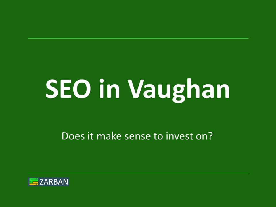 SEO in Vaughan