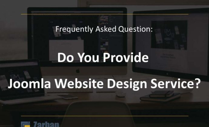 Do you provide Joomla Web design service?