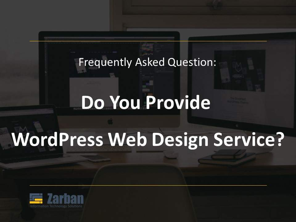 Toronto WordPress Web Design Do you provide This Service?
