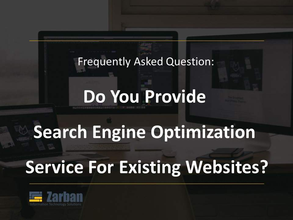 Do you provide search engine optimization