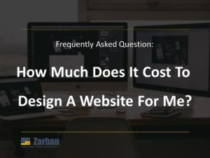 How much does it cost to design a website for me