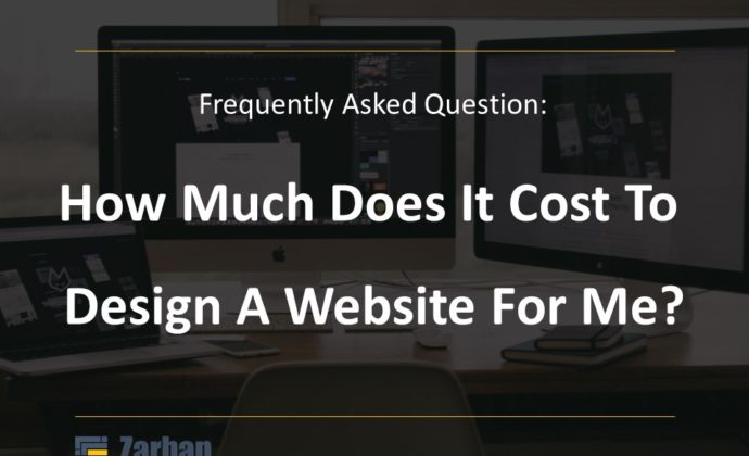 How much does it cost to design a website for me?