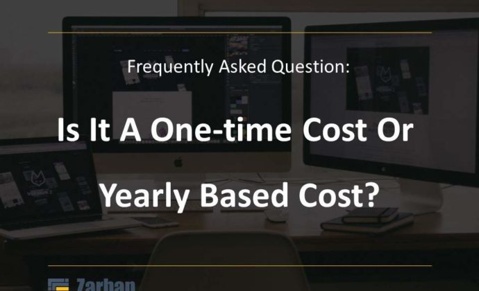 Is Website Design Cost a one-time or yearly based cost?