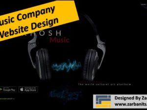 Music Company Website Design Scarborough