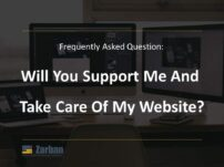 Markham Website Maintenance, Will you support me and take care of my website