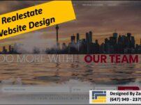Real estate Web Design Richmond Hill