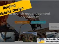 Roofing Website Design Scarborough