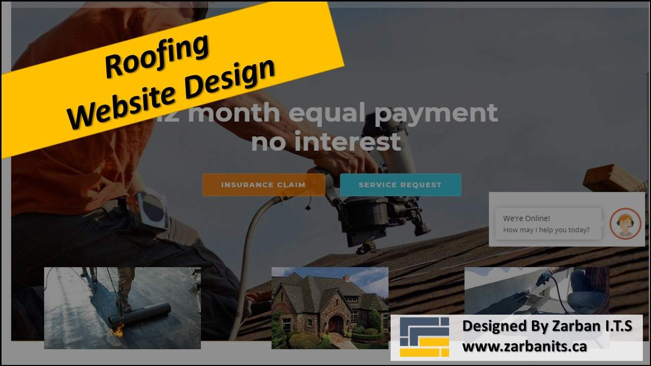 Roofing Company Website Design Scarborough